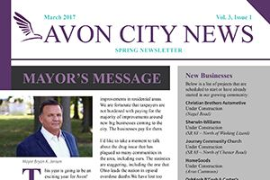 The City of Avon News March 2017