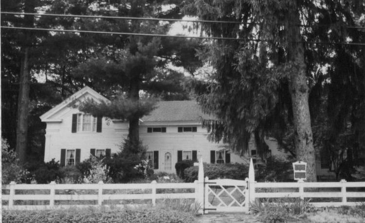 Avon's first settler, Wilbur Cahoon, built this framed Greek Revival home in 1825, one year before he passed away.