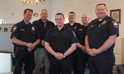 New officer sworn in April 20